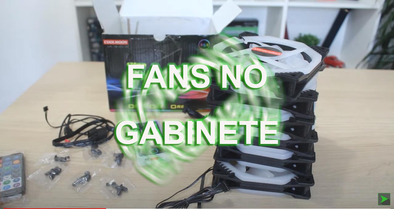 Kit Fans RGB