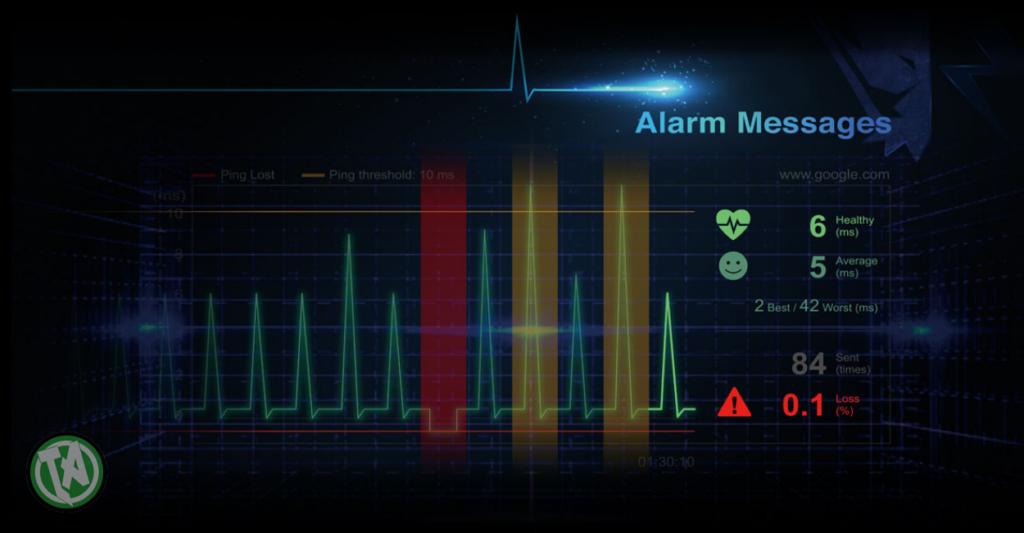 Monitoramento de rede em tempo real