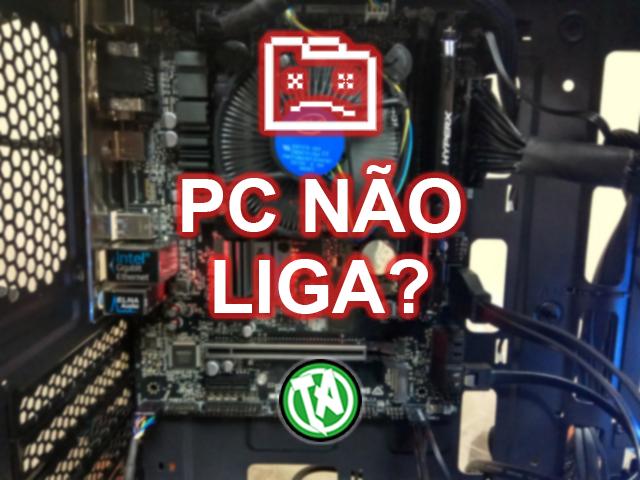 Capa PC Não liga