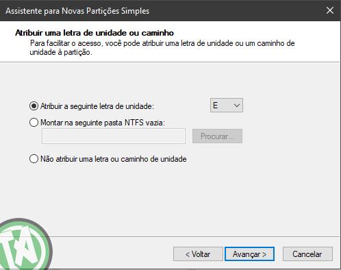 Criando alocação do SSD parte 03