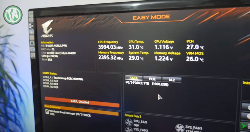 BIOS de qualidade para controle total