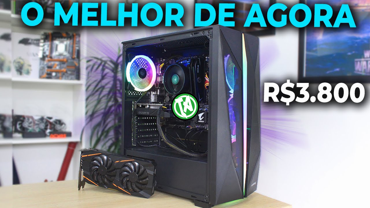 Capa PC GAMER 3800
