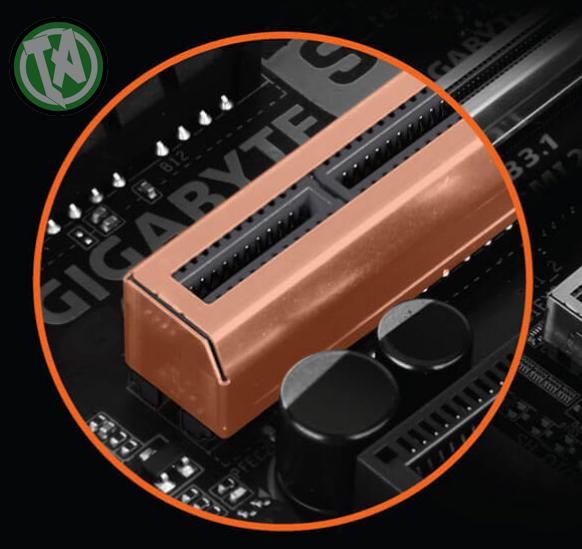 Ultra Durable PCIe Armor - Proteção extra para o slot PCIe