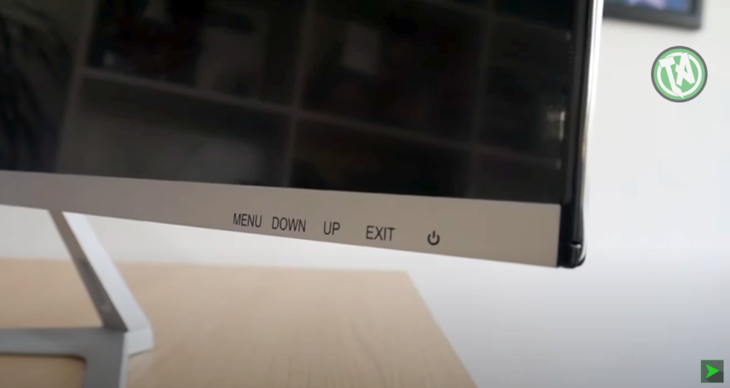 Controles do monitor