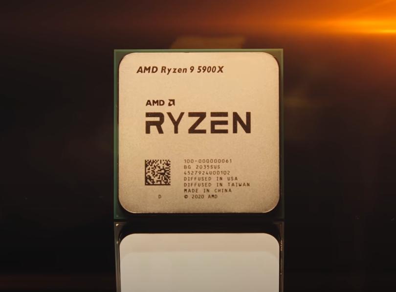 Lançamento poderoso Ryzen 9 5900X