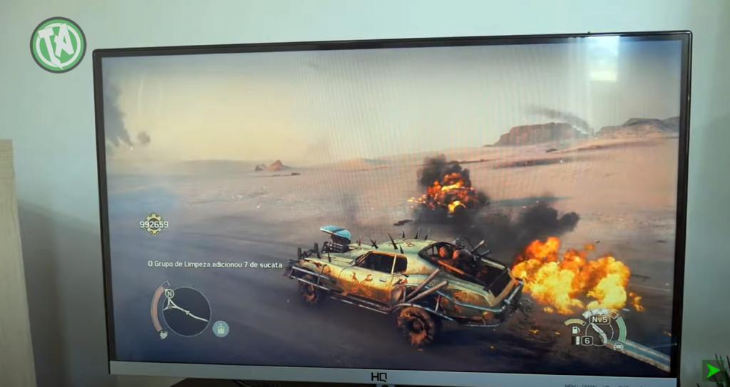 Mad Max em 75Hz