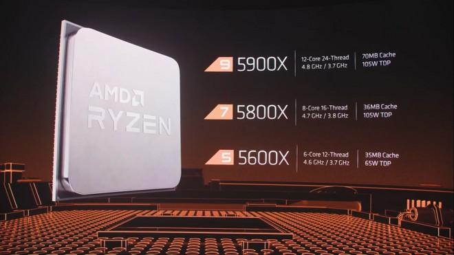 Três modelos apresentados pela AMD