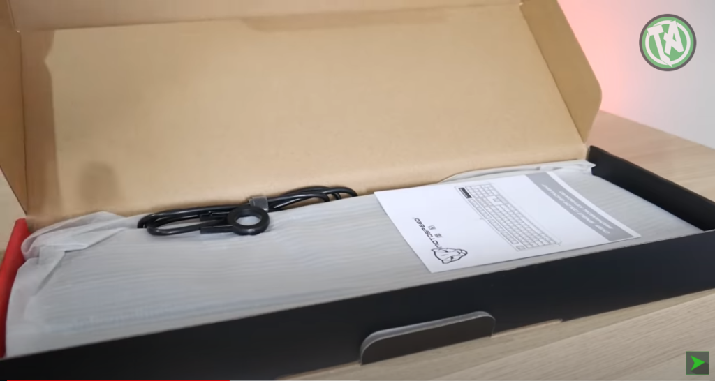 Unboxing do CK95