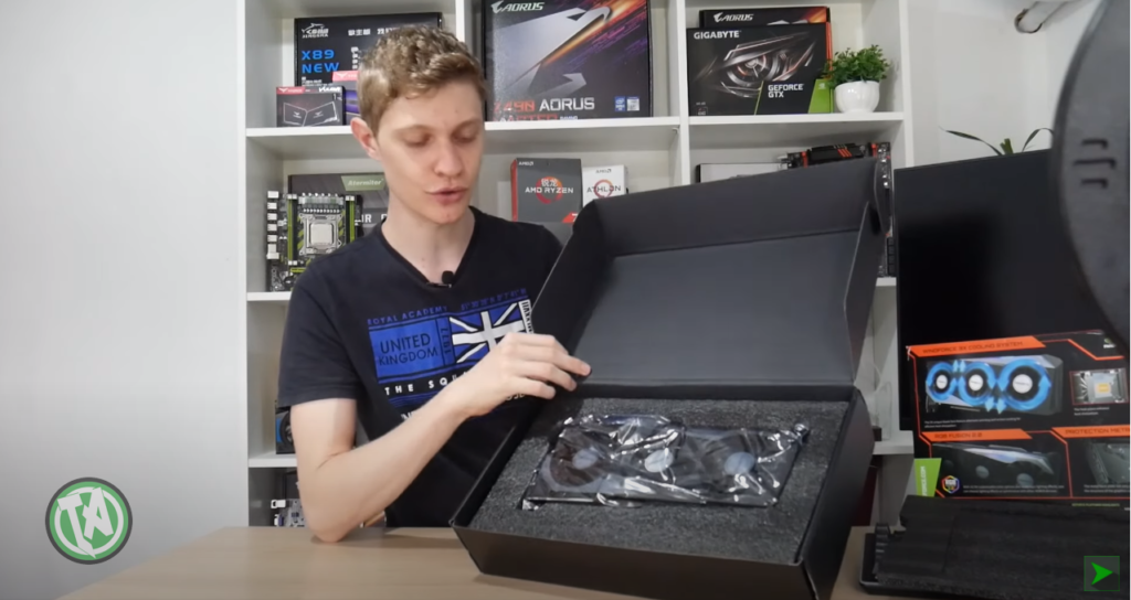 Unboxing RTX 3070
