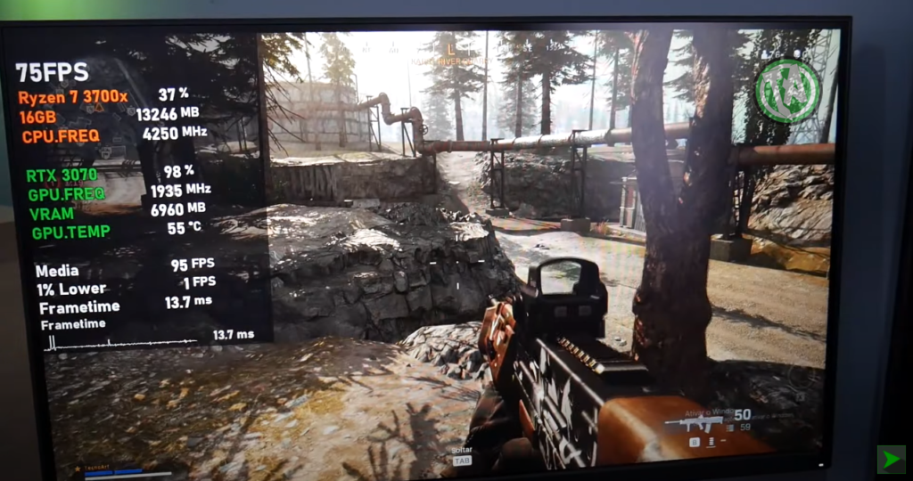 CoD Warzone em 4K