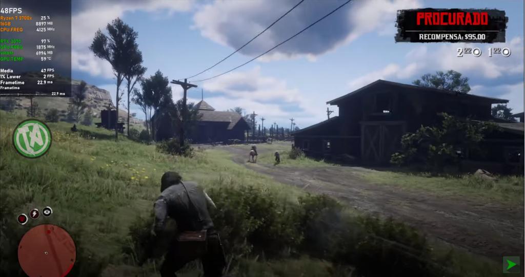 Red Dead Redemption 2 em 4K