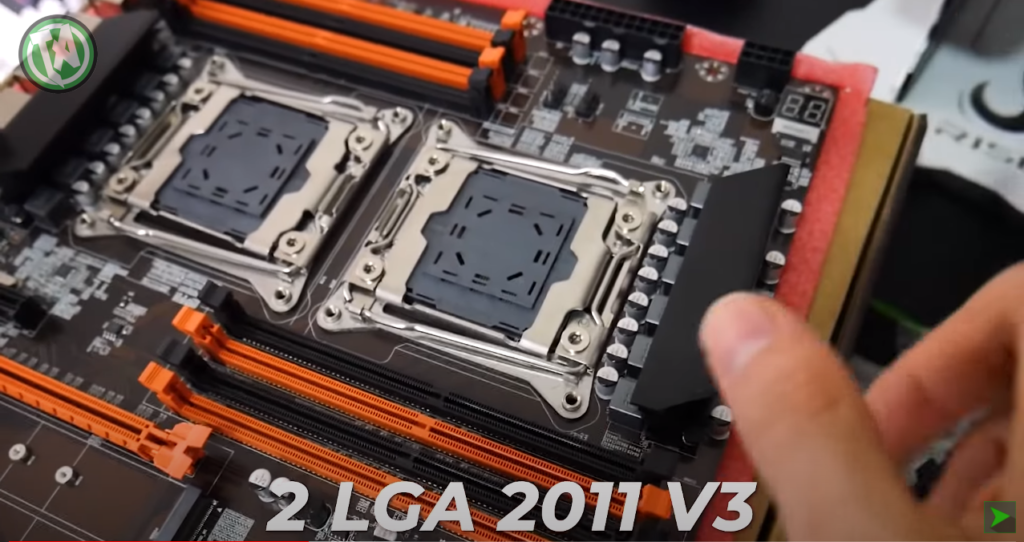 2 soquetes LGA 2011 v3