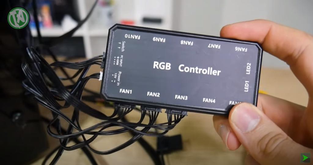 Fans RGB podem ser conectados numa controladora RGB