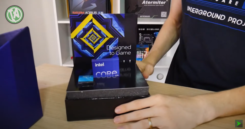 Unboxing do Intel Core i9 de 11ª geração